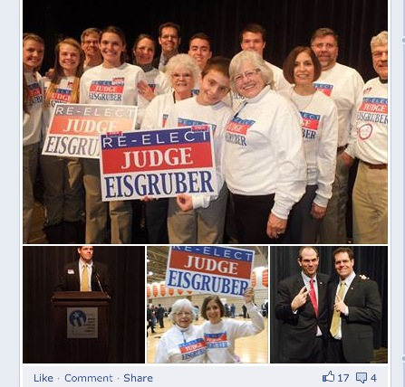 Judge Kurt Eisgruber fans - Republican women supporting rapist friendly judge