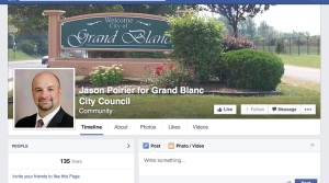 Jason Poirier - runing for Grand Blanc