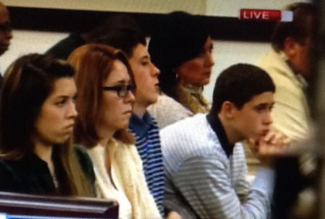 Amanda Perez in court