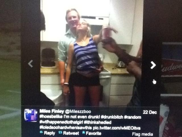 Vandenburg Friend Miles Finley - drunk women