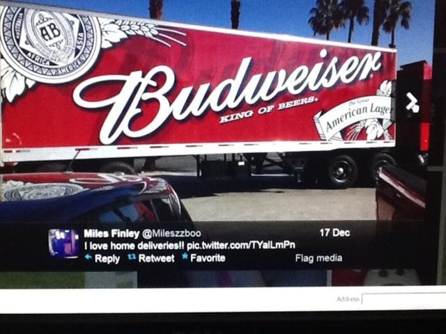 Vandenburg - Miles Finley - Budweiser