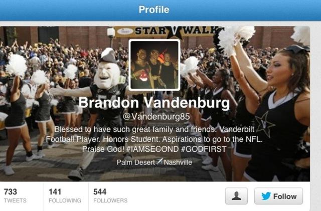 Vandenburg - Twitter original