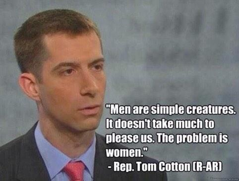 Arkansas Representative Tom Cotton