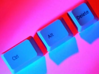 Computer keys - Control - Alt-Delete