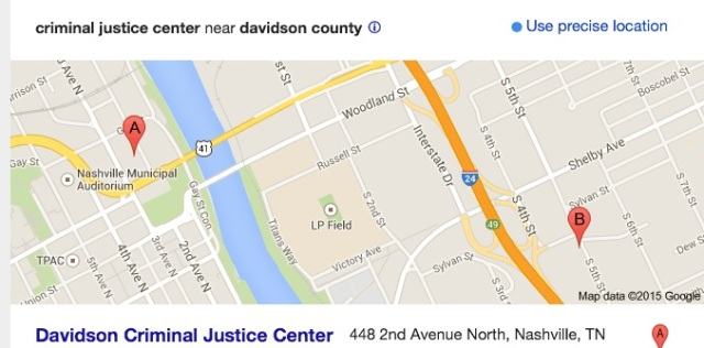 Davidson County Criminal Justice Center - Nashville, TN