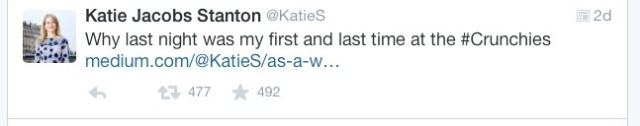 Katie Jacobs Stanton - Unhappy