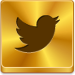 Twitter - gold