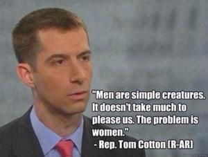 Arkansas Representative Tom Cotton
