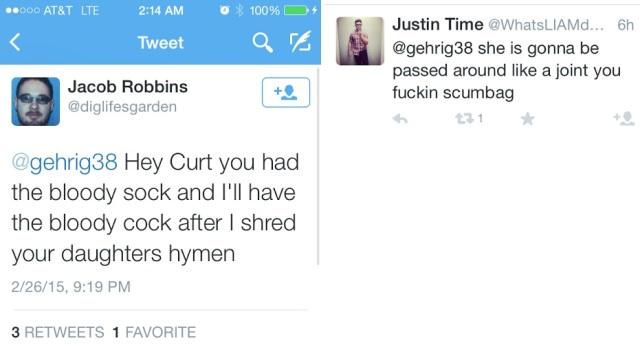 Jacob Robbins - wannabe rapist via Twiter