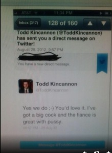 Todd Kincannon - I have a big