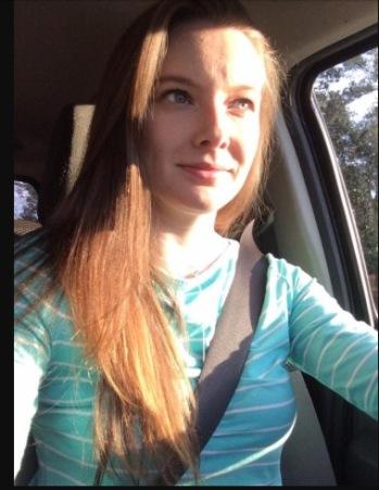 Ashley Kincannon - in car