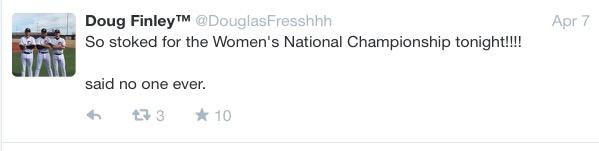 Doug Finley - on women