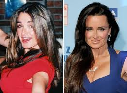 Kyle Richards - then and now