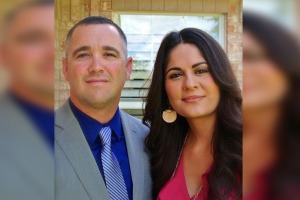 Sgt. Chad and Sandra Simpson