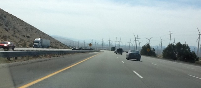 Windmill - Entering Palm Desert