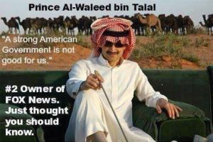Anti-American Prince Al-Waleed bin Talal