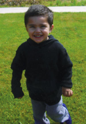 Isaac09 Isaac Gallegos died April 13 from a head injury. His father Alex Baeza is charged with murder.