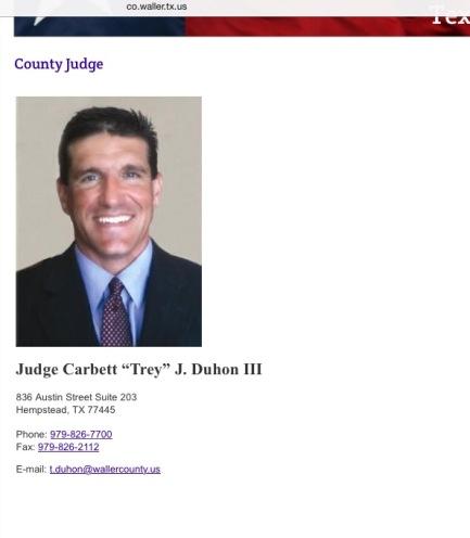 Judge Carbett 'Trey' Dunhon III - corrupt or stupid - you decide