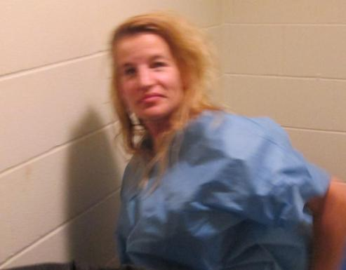 This photo provided by the Barre City Police Department shows Jodi Herring. Vermont Gov. Peter Shumlin said Saturday, Aug. 8, 2015, that the three women found dead at a Berlin home Saturday morning were an aunt and two cousins of Herring. Herring was arrested on a murder charge in the death of Lara Sobel. Sobel was gunned down after work Friday outside a state office building in Barre. (Barre City Police Department via AP) MANDATORY CREDIT