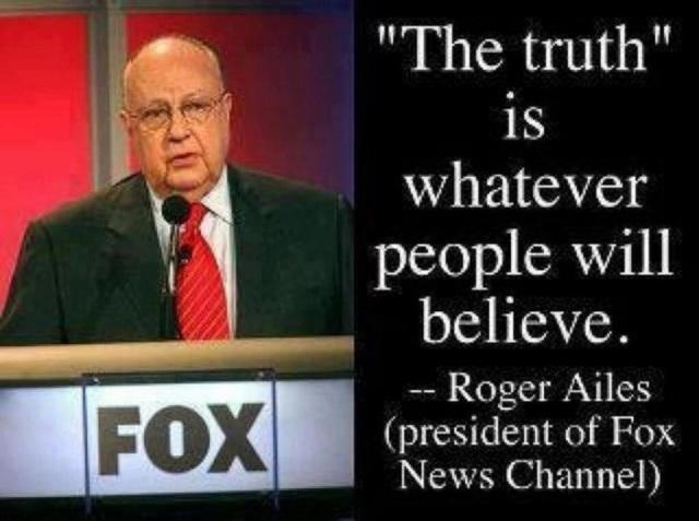 Roger Ailes - Created Anti-American Trojan horse FOX