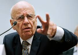 Rupert Murdoch - born in Austrialia