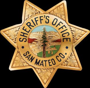 San Mateo Sheriff badge - same old problem