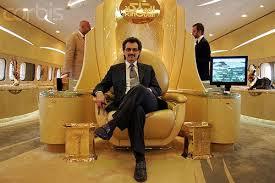 Saudi Prince Alawaleed 500 million flying Airbus palace