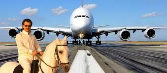 Saudi Prince Alaweed - horse to airbus