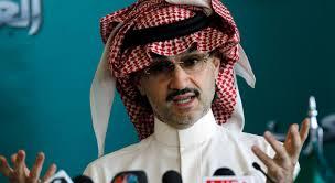 Saudi Prince FOX stakeholder Alwaleed bin talal