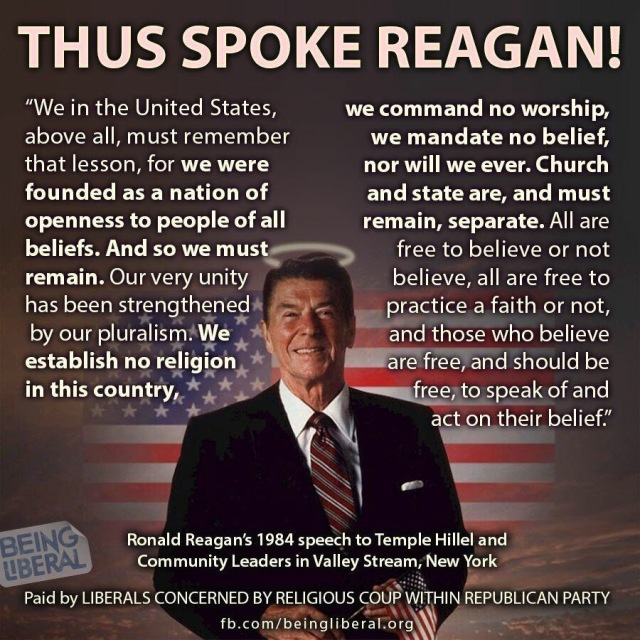 ReaganOnChurch&State