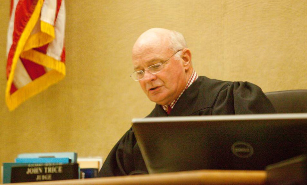 Judge John Trice, San Luis Obispo Superior Court