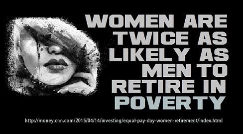 Women retire in Poverty