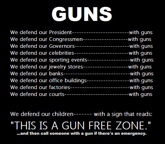 Barney Fraaken - on Guns and defending our children