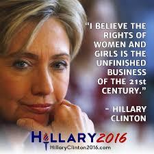 Hillaryforwomen