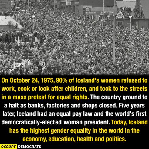 W-Icelandic women revolted