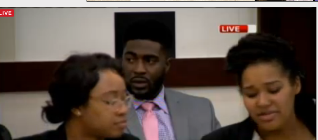 Cory Batey after the DAs final argument