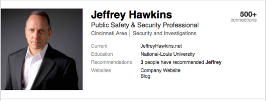Jeffrey Hawkins - Public Safety and Security Professional