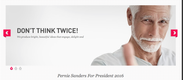 Bernie Better think Twice