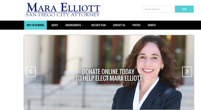 Mara Elliot - Not the best for San Diego