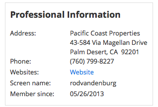 Rod Vandenburg - Pacicific Coast Properties - Father of Brandon