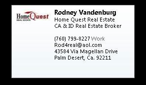 Rodney Vandenburg - Home Qwest