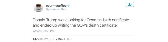 GOP - Death Certificate