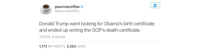 GOP - Death Certificate