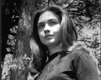 Hillary in college
