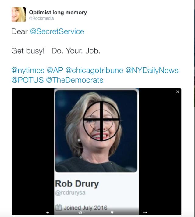 Hillary - Secret Service Request August 11, 2016