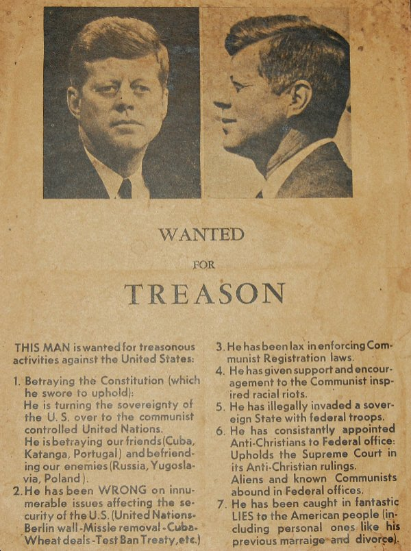 JFK TreasonFlyer