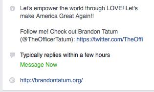Sucker punching Tucson Cop, Brandon Tatum says to LOVE