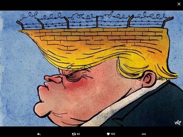 Trump-hair-wall