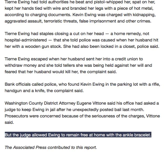 Killer Judge Not identified by Press