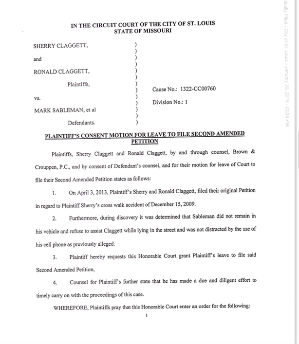 Defendant agrees with Mark Sableman